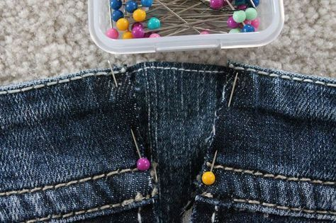 ¿Cómo agrandar la cintura de un Jean? | Como agrandar un ...