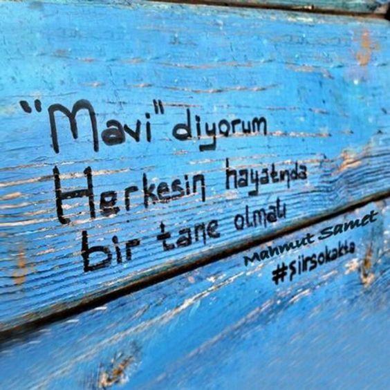 Siir Siirsokakta Celep Murat Muratcelep Duvaryazilari Guzel Soz Mavi Sozleri Mavi