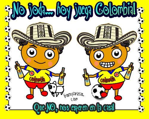 Enviar Tarjeta Hoy Juega Colombia Fotos De Colombia Bandera De Colombia