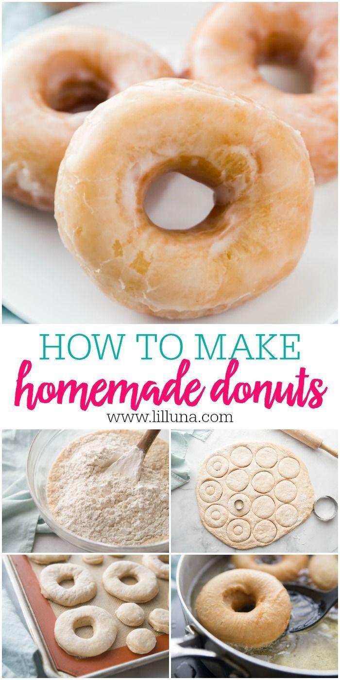 Recetas Donuts