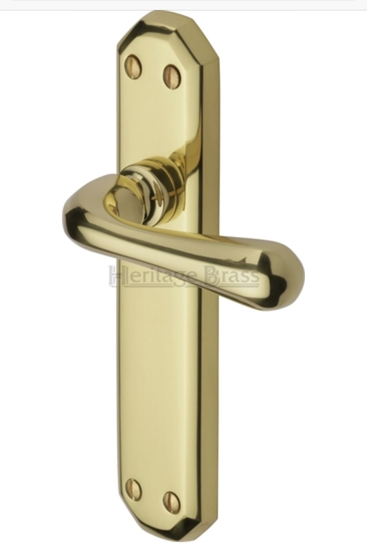 Charlbury Door Handles On Backplate Dimensions 184mm X 41mm Supplied In Pairs With Spindle S Finishes Available Polished Br