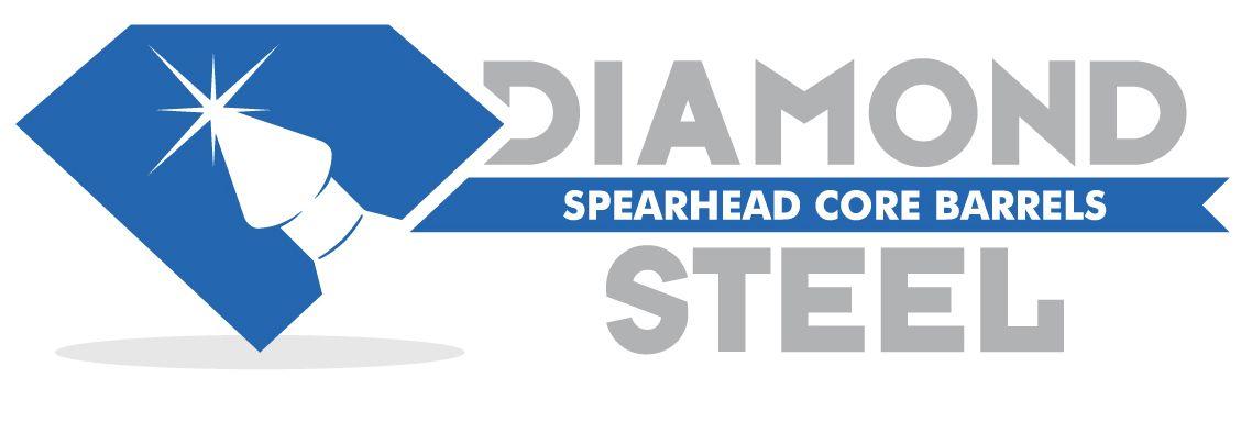 Logotipo de refaccionaria de equipo de mineria industrial.