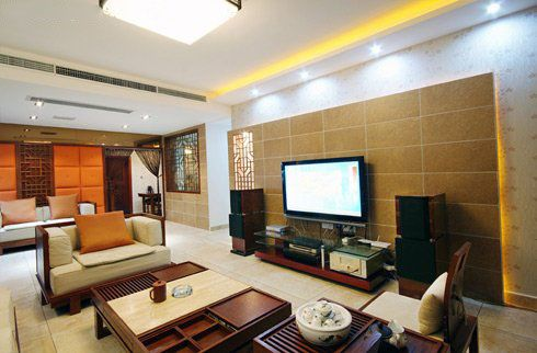 Exotic Traditional Japanese Living Room With Wooden Wall And Floor Delectable Japanese Living Room Inspiration Design