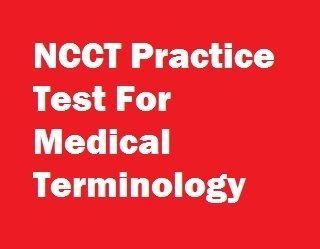 medical assistant test sample