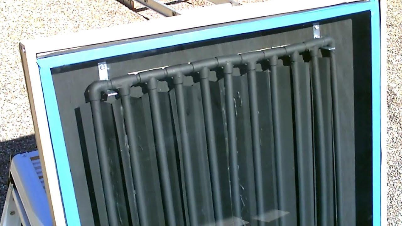 "DIY Solar Water Heater! The CPVC ""DripEdge"" Solar Water"