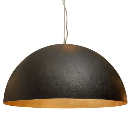 Matte Black Dome Pendant From A Unique Collection Of Antique And Modern Chandeliers Pendants