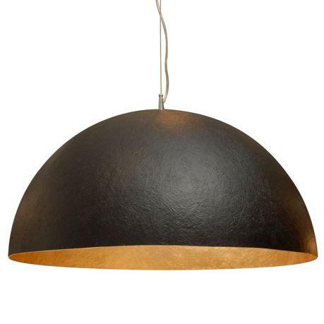 Matte Black Dome Pendant