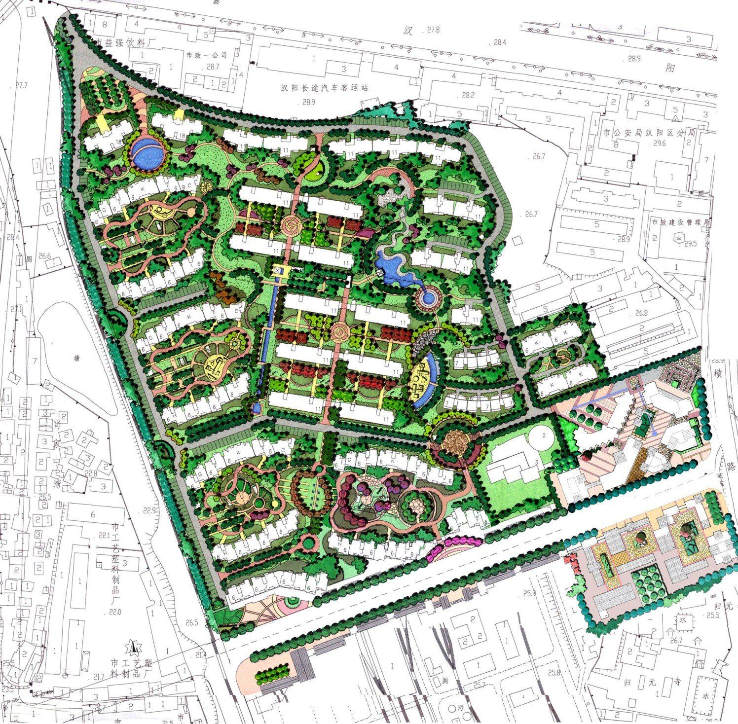 Residential In China Urban Design Plan Lanscape Design Urban Design