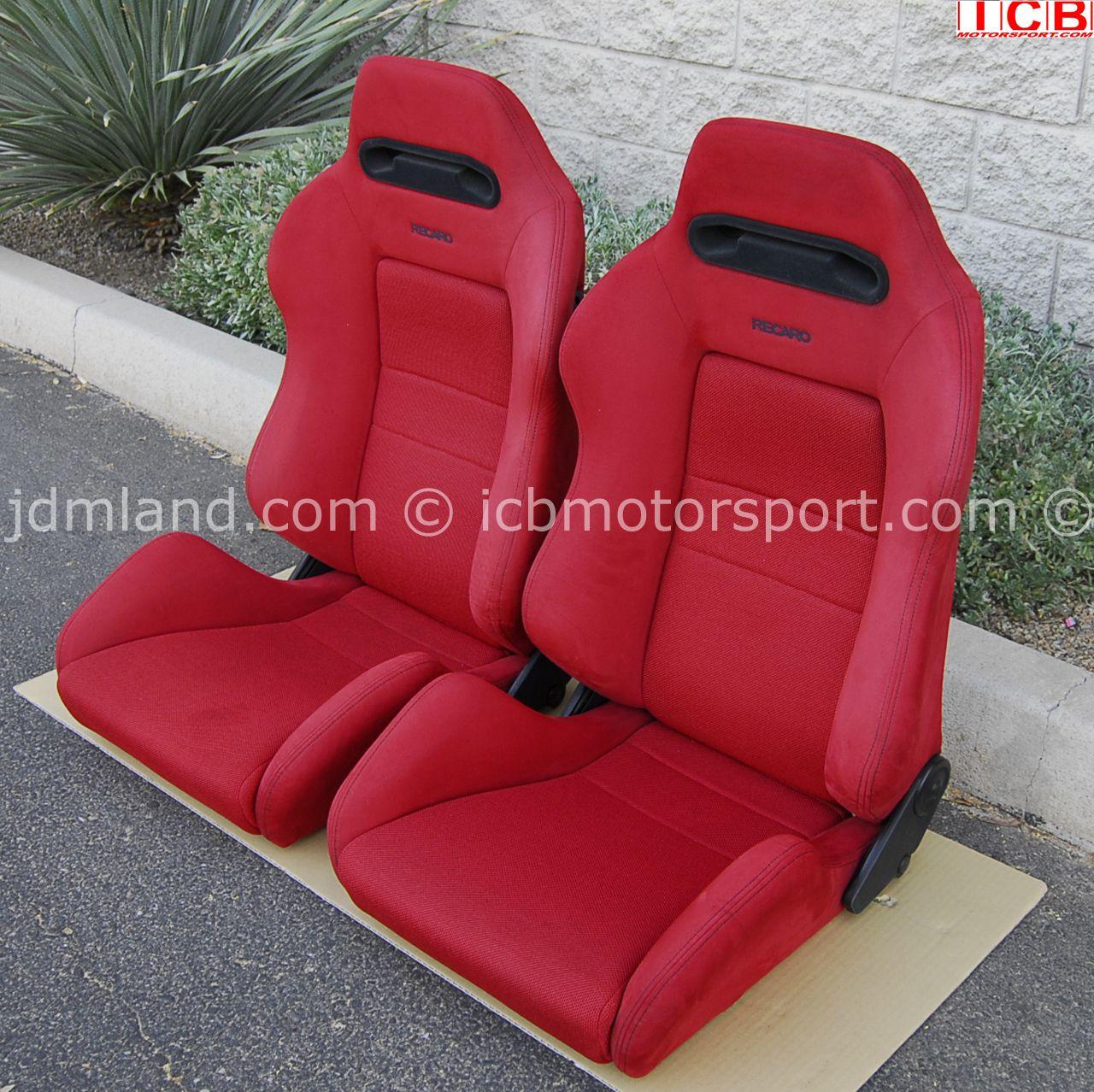 Used Honda Ek9 Civic Type R Red Recaro Seats Sold Recaro Car Seats Honda