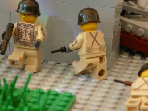 Lego battle of carentan 2 my remake of carentan worked on setting animation movement and sound hope you like dan decals credit to roaglaan military videos