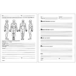 Soap Notes Client Visit Form Pack Of   Health Medicine