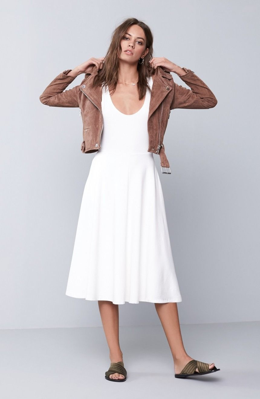 Leith Stretch Knit Midi Dress Nordstrom Knit Midi Dress Stretch Midi Dress Midi Dress [ 1318 x 860 Pixel ]