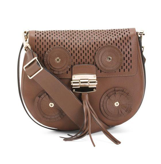 Furla Women S Made In Italy Leather Grained Finish Crossbody Handbag Nwt Ebay