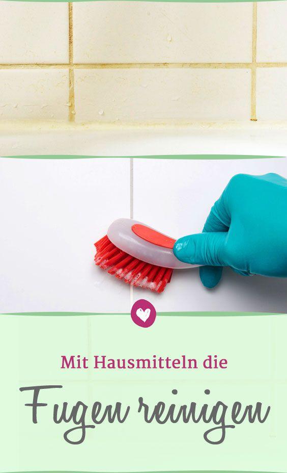 fugen reinigen diese hausmittel helfen gegen schmutz im bad die besten haushaltstipps. Black Bedroom Furniture Sets. Home Design Ideas