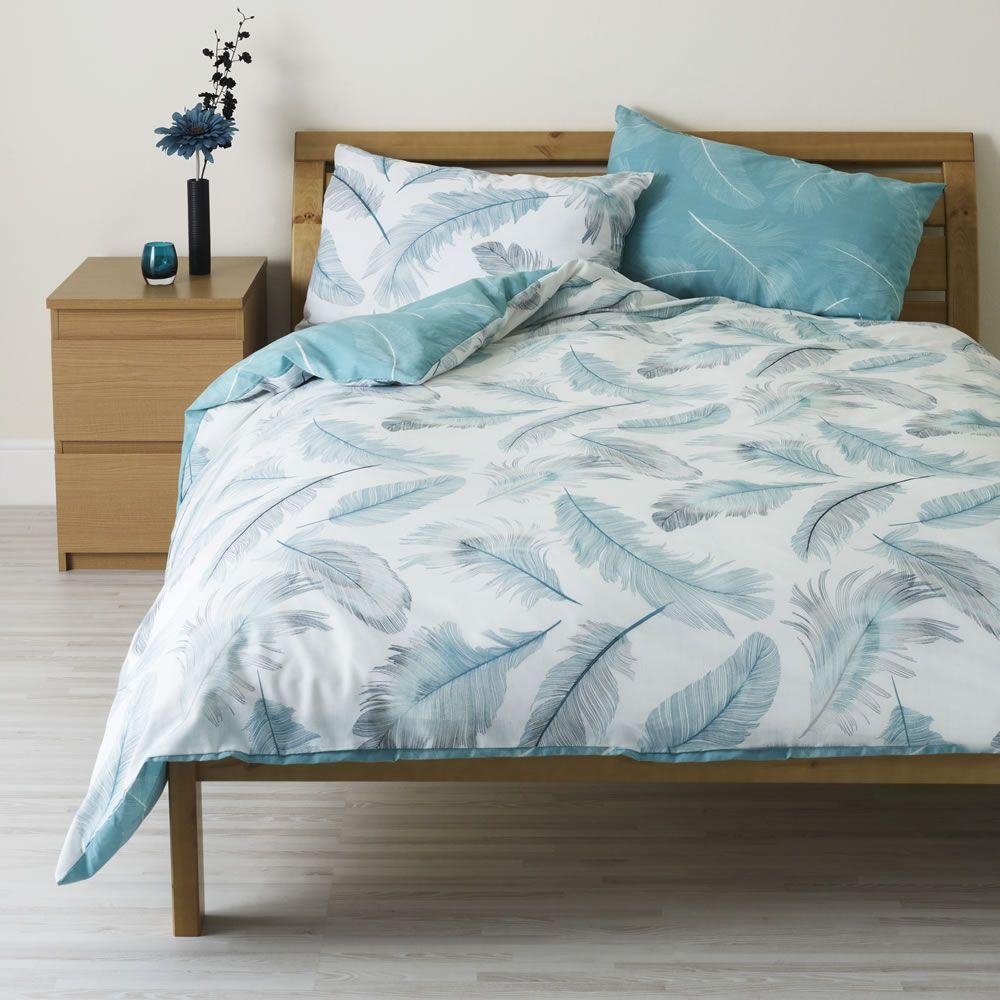 Wilko Feather Print Duvet Duvet Sets Duvet Bedding Sets Duvet