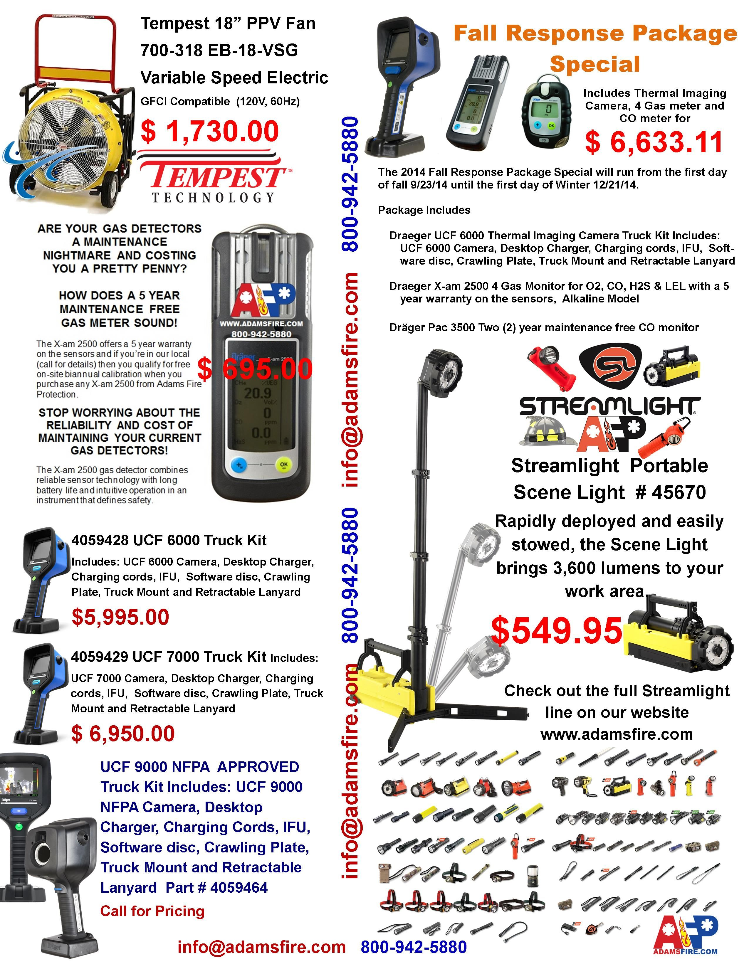 Fall 2014 mailer side 1 Thermal imaging, Technology