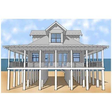 classic florida cracker beach house plan | coastal beachouse type