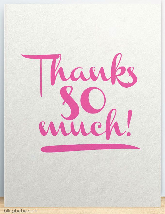 Thanks So Much Thank You Card By Blingbebe Greetings Congrats Quotes Thank You For Birthday Wishes Thank You Images