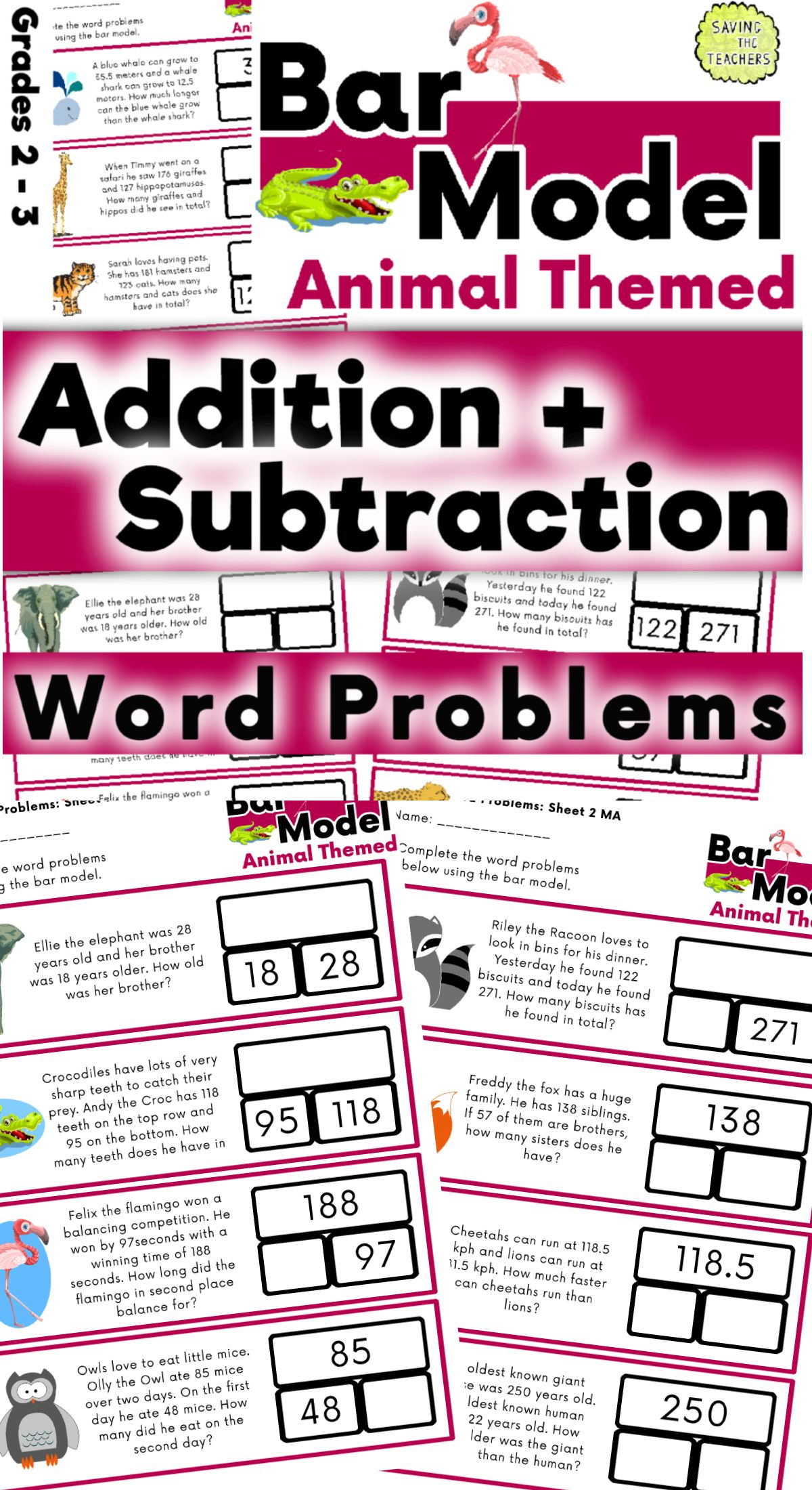 Subtraction Action Bar Models From First Grade Frolics Bar Model Subtraction First Grade