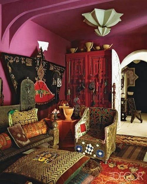 20 ideas para una decoración árabe bohemia 8