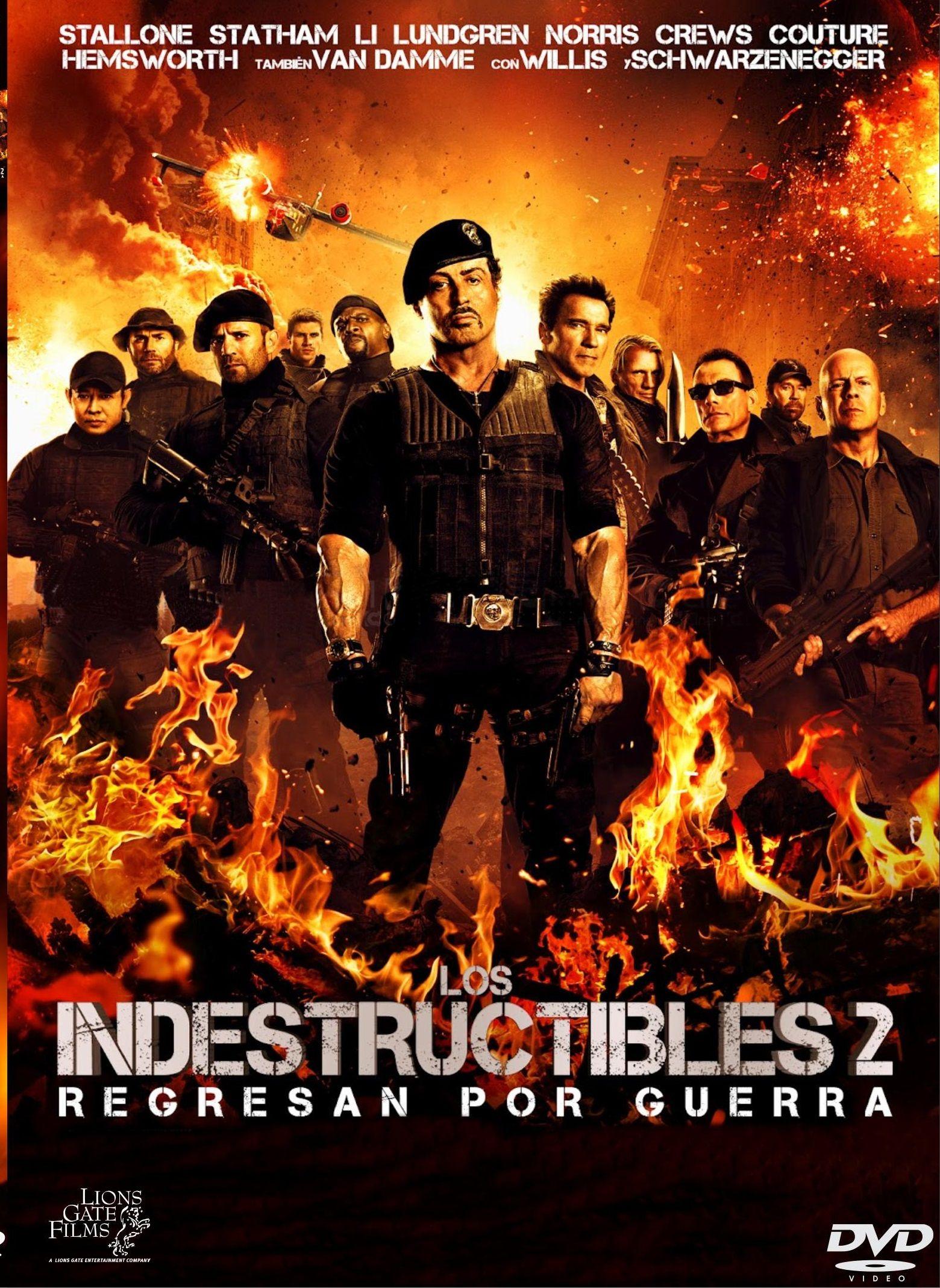 Descripcion Descargar Los Indestructibles 2 Brrip Latino Pl Gratis Por Mediafire Mega O Torrent Full The Expendables 2012 Movie Movie Posters