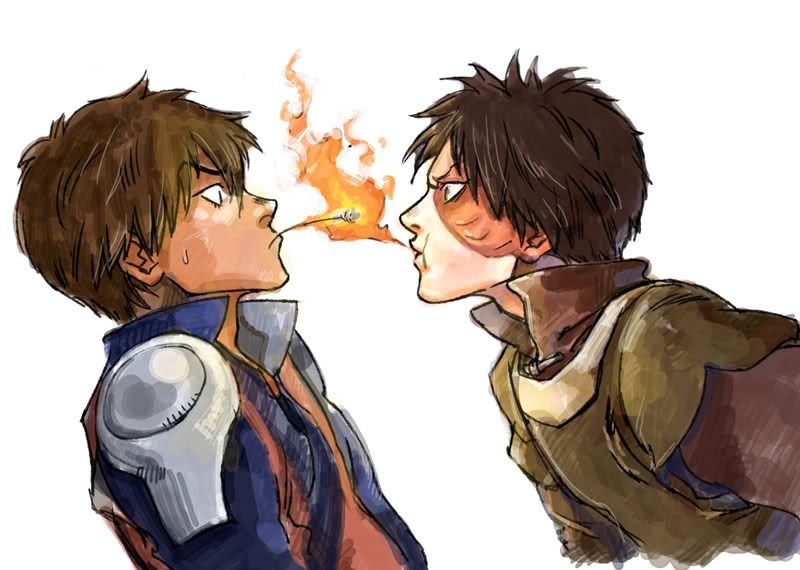 Pin by Cheez on BWAHAHAHAHA *spittle* | Avatar zuko ... Zuko And Aang Yaoi