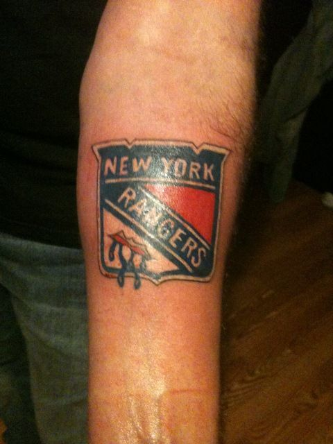 New York Rangers Tattoos Pictures Henrik Lundqvist Tattoo