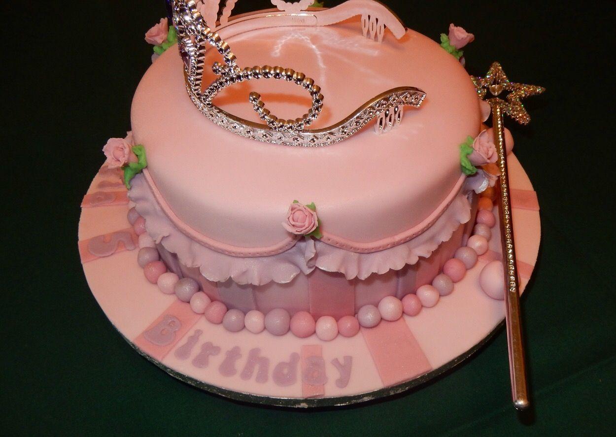 Little Princess birthday cake princess tiara princess cake