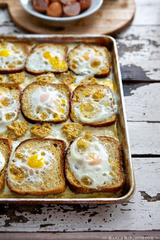 Photo of Baked Egg (Toad in the Hole) French Toast | FamilyFreshCookin…