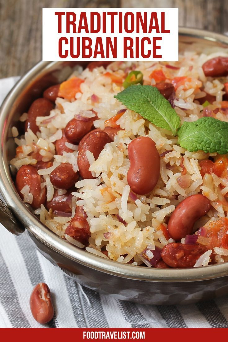 Traditional Cuban Rice