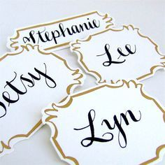 formal name tags - Name Tag Design Ideas