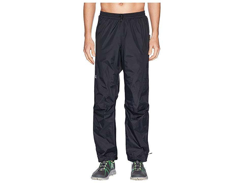 Jack Wolfskin Cloudburst Pants Black Mens Casual Pants Get through your morning adventure with the perfect amount of protection in the durable Cloudburst Pants Relaxed fi...