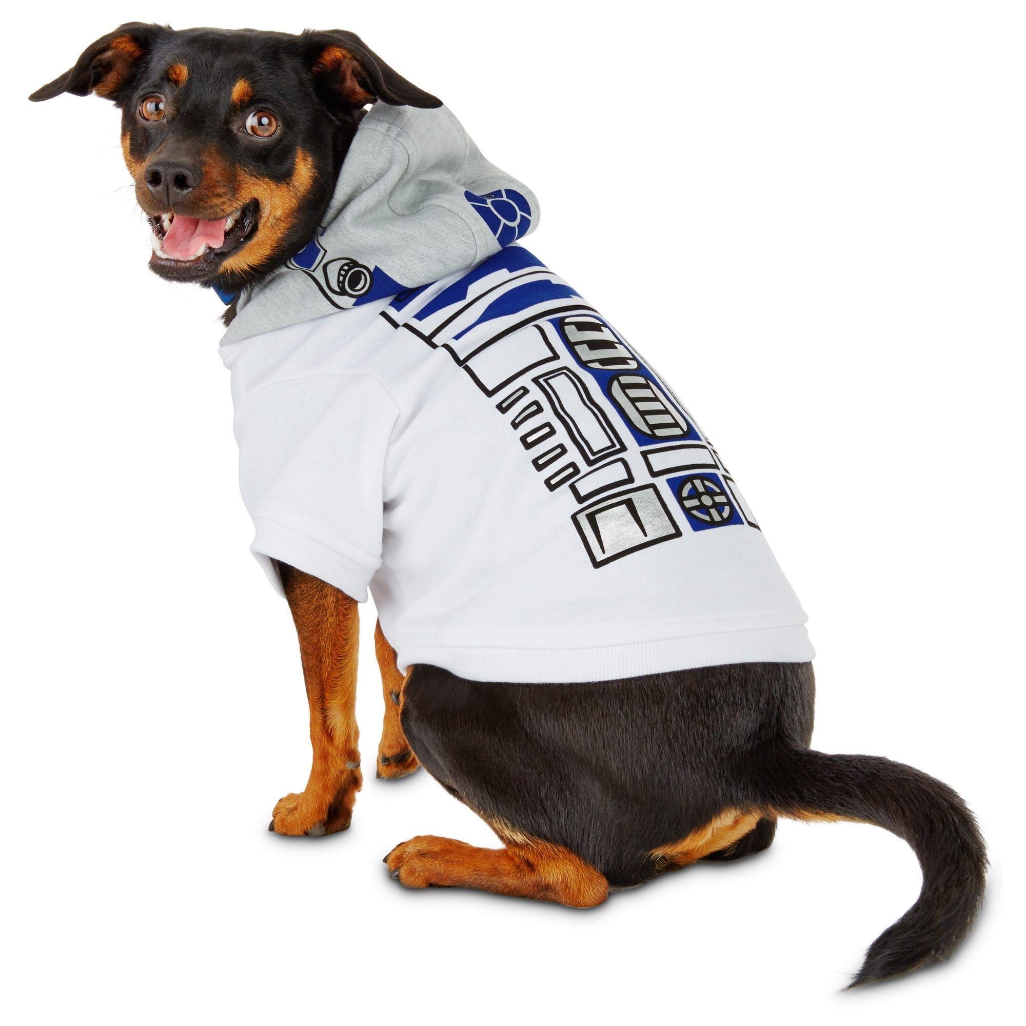Star Wars R2 D2 Dog Hoodie X Large White In 2020 Dog Hoodie