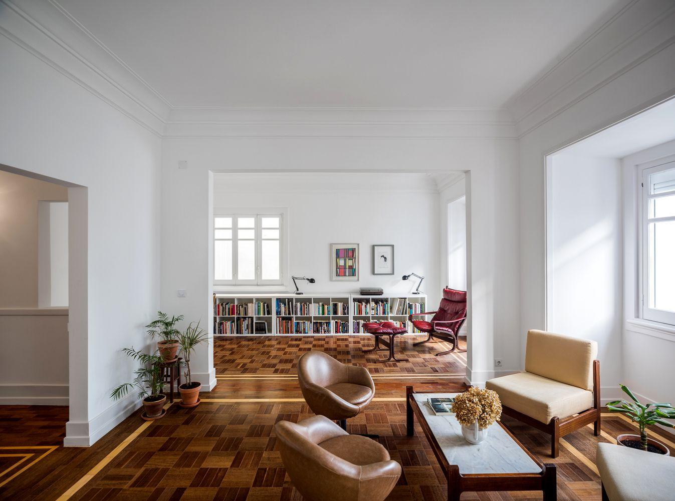 Remodelação de apartamento aboim inglez arquitectos