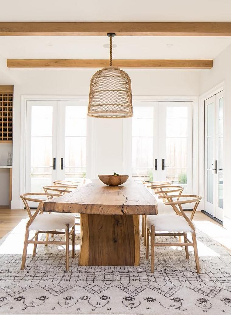 How To Pick The Right Dining Table Size And Shape In 2020 Dining