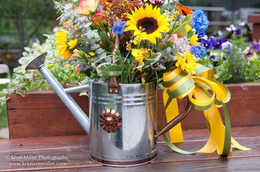Watering Can Flower Arrangements Geschenke