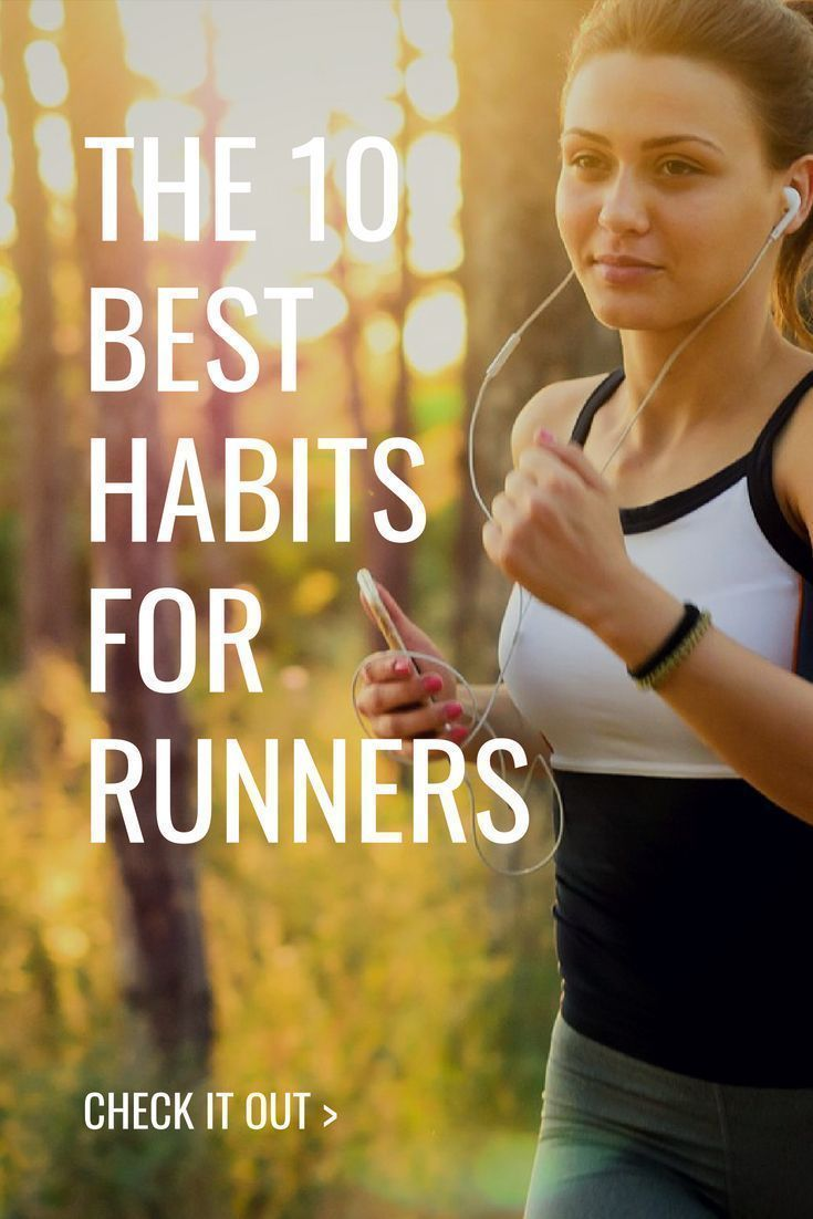 There are many habits that are important for runners. Learn about the 10 most important of them in this article!