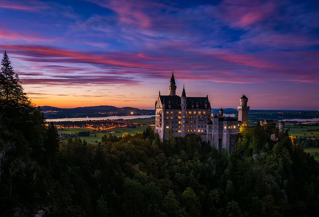 Check it out: the real-life castle that inspired Sleeping Beauty Castle at Disneyland!