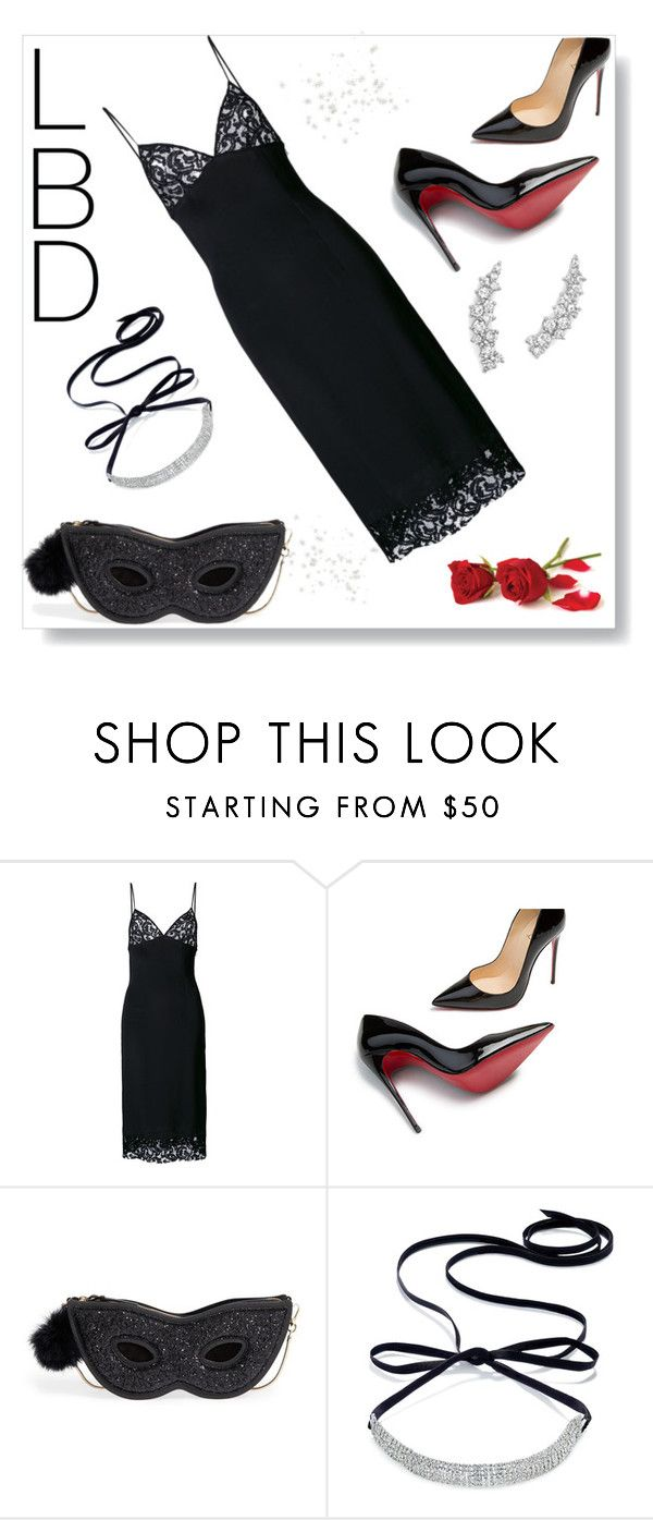"""""""Little Black Dress ll"""" by kim-mcculley ❤ liked on Polyvore featuring DressedUndressed, Christian Louboutin, Kate Spade, INC International Concepts, Bloomingdale's, LBD and womensFashion"""