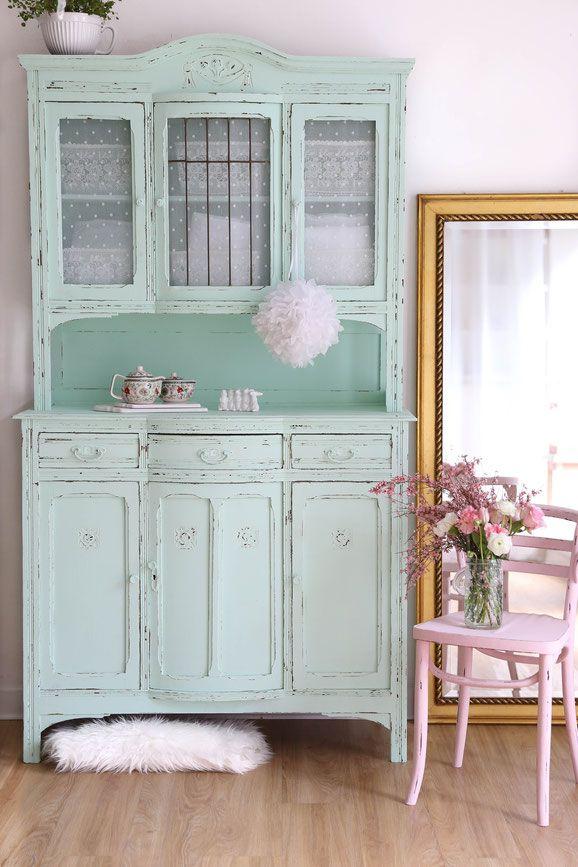 Shabby chic Küchenbuffet, antiker küchenschrank | shaby | Pinterest ...