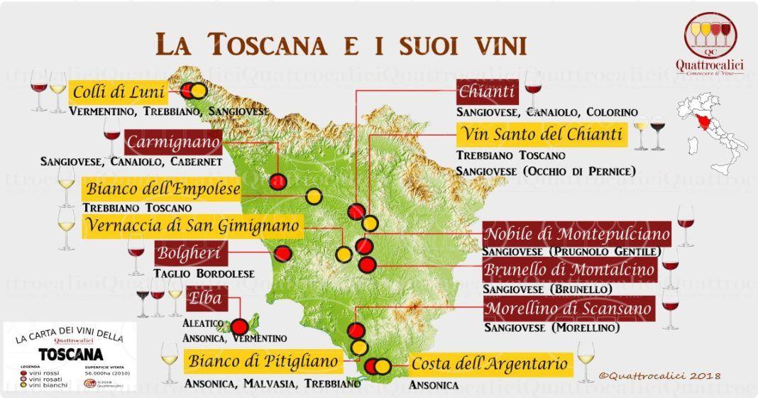 Toscana La Guida al Vino e all'Enoturismo di Toscana e