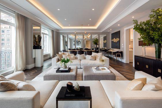 Photo of La sala de estar es el área más importante de nuestra casa, podría ser donde …