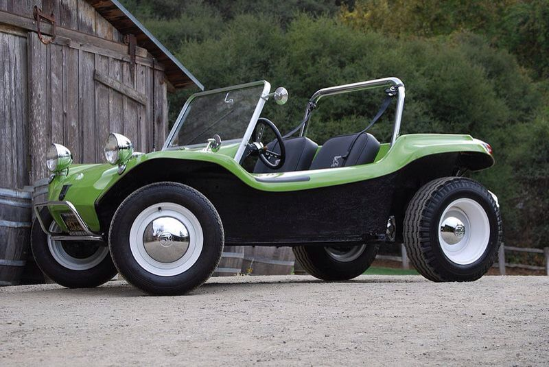 Green Manx Dune Buggy
