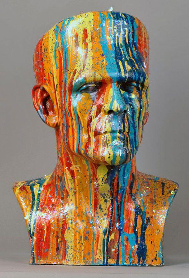 Voici une collection de sculptures sur le thème de Frankenstein, réalisées par 90 artistes ou professionnels spécialisés dans les effets spéciaux, pour un projet à but caritatif.CityArt Factory, Th…