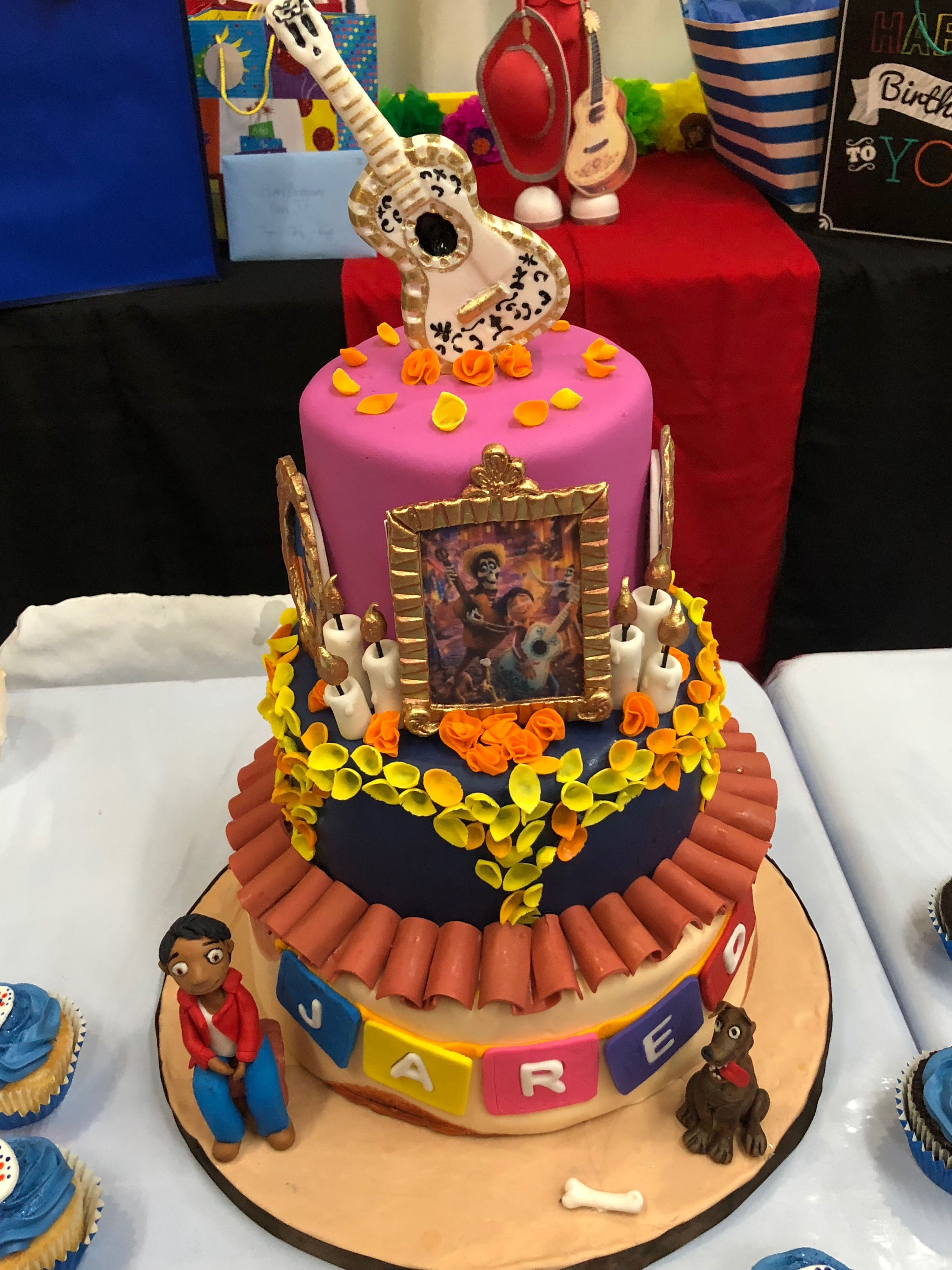 Coco The Movie Cake