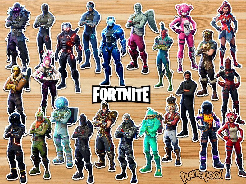 Halloween Fortnite Characters.Fortnite Battle Royale Legendary Skin Sticker Fortnite