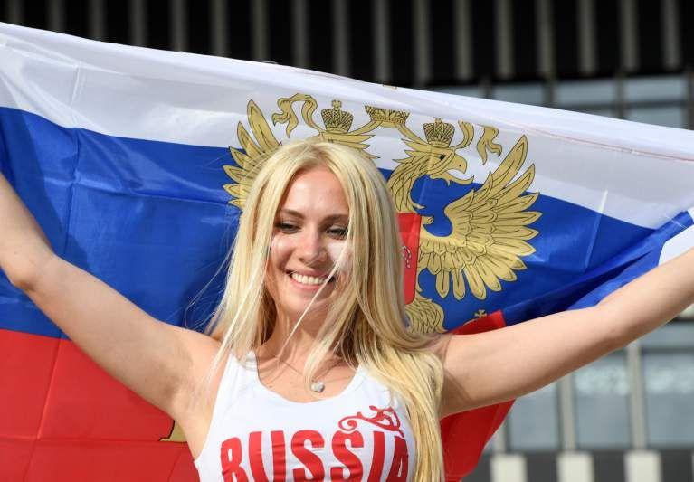 Russas dão um colorido diferente