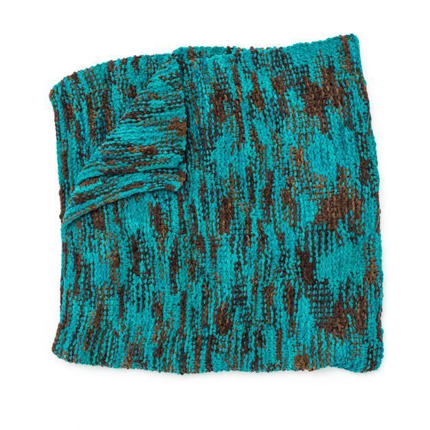 Bernat Big Basketweave Blanket | Knit afghan patterns ...