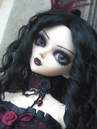 Gorgeous Gothic Doll