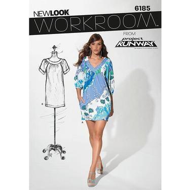 New Look Workroom From Project Runway 6185 Women\'s Dress 4 - 16 ...